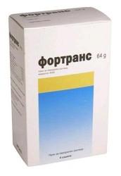 Фортранс, пор. д/р-ра д/приема внутрь 64 г / 73.69 г №4 пакетики