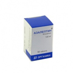 Азалептин, табл. 100 мг №50
