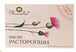 Масло расторопши, капс. 300 мг №200